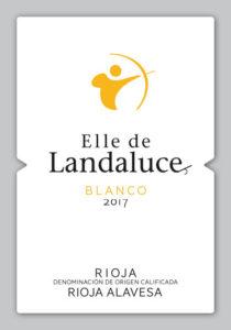 Etiqueta Elle de Landaluce Blanco